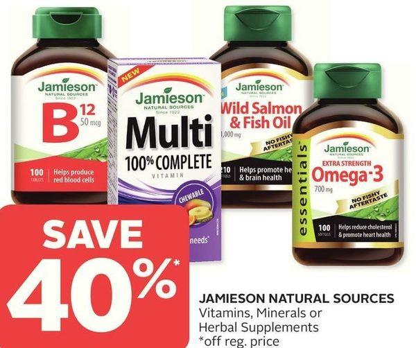 cebee7eada Rexall  Jamieson Natural Sources Vitamins