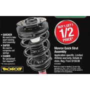 Monroe Quick Strut Assembly - Buy 1 Get 1 50% off