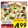 Al Safa Halal Vegetable or Cheese Pizza - $4.99