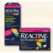 Jean Coutu: Reactine For Children/ Fastmelts/Tablets/Liquid