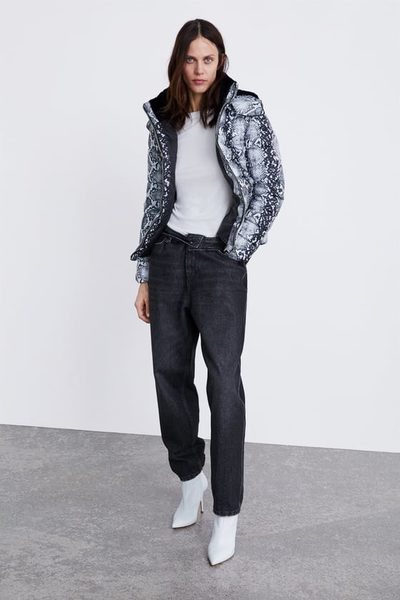6518120c3e03 Zara Animal Print Puffer Jacket - $99.90 Animal Print Puffer Jacket