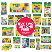 Crayola  - Buy Two Get One Free