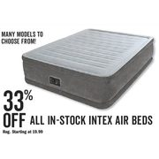 All In-Stock Index Air Beds - 33% off