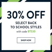 Sperry Back to School: 30% off Select Back to School Styles