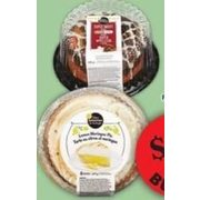 Baker's Selection Lemon Meringue Pie or Pudding Cakes - $3.00/bucks