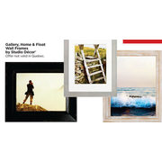 Studio Decor Gallery Home & Float Wall Frames - BOGO Free