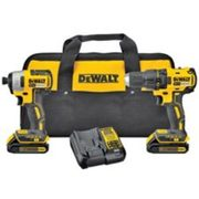 Dewalt 20v Max Li-ion Brushless Cordless Compact Drill And Impact Driver Combo Kit - $259.99 ($40.00 Off)