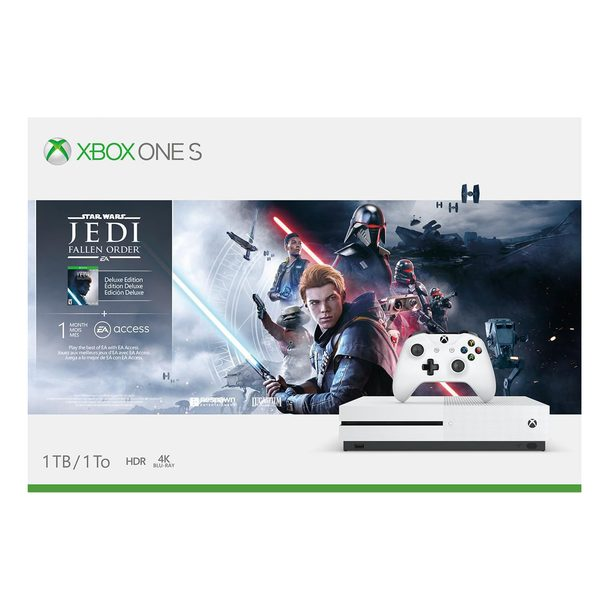 Walmart Canada Black Friday 2019 Early Deals On Now Xbox One S Jedi Fallen Order Bundle 250 Lego 900 Pc Creative Set 25 More Redflagdeals Com