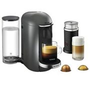 Nespresso Vertuoplus Coffee & Espresso Machine By Breville With Aeroccino Milk Frother, Titan - $209.99 ($140.00 Off)