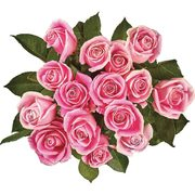 PC More-Than-A-Dozen Roses, Ferrero Rocher Or Collection Heart  - $35.00