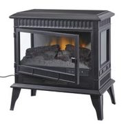 For Living 3-side Free Standing Electric Fireplace, 25-in - $199.99 ($150.00 Off)