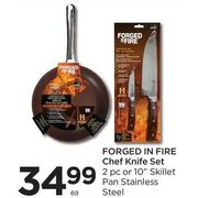 Forged In Fire Chef Knife Set - $34.99