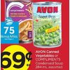 Avon Canned Vegetables Or Compliments Condensed Soup  - $0.69