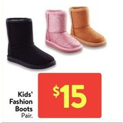 Kids' Fashion Boots - $15.00