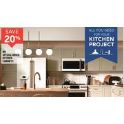 Kitchen Cabinets  - 20% off