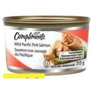 Compliments Pink Salmon - $3.99