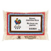 Rooster Jasmine Scented or Brown Rice  - $4.99