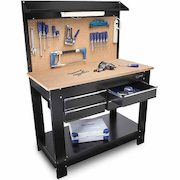 Groovy Lowe039S Kobalt 4 Drawer Heavy Duty Workbench 148 00 Spiritservingveterans Wood Chair Design Ideas Spiritservingveteransorg
